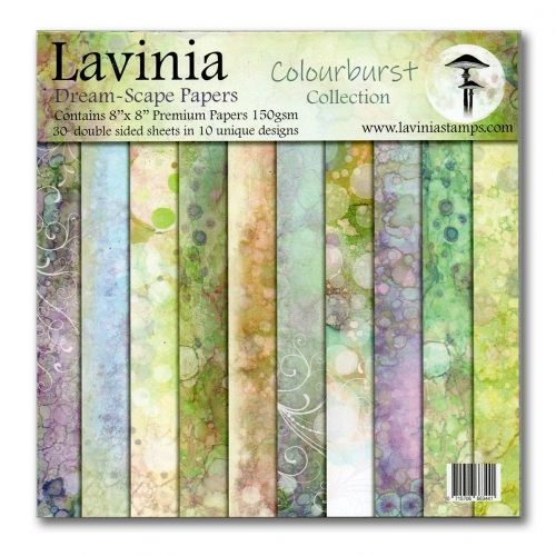 Dreamscape Papers. The Colourburst Collection- Lavinia Stamps